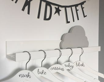 Personalised Children's Hangers