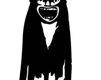 Babadook Horror Vinyl Car Decal Bumper Window Sticker Any Color Multiple Sizes