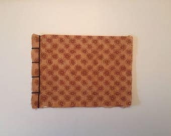 Handmade Floral Japanese bound notepad