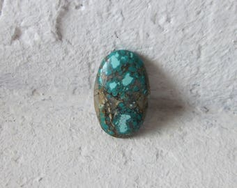 Tibetan Turquoise Cabochon. S0479