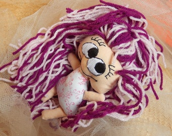 """Mini Doll """"Mademoiselle Rose"""" - pattern only"""
