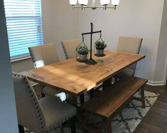 6' Handmade farmhouse dining table