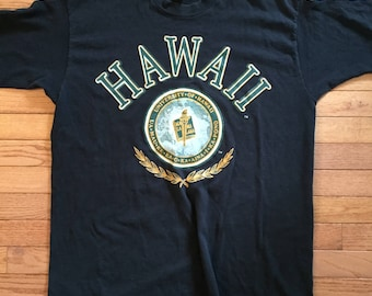 Vintage U of Hawaii tshirt