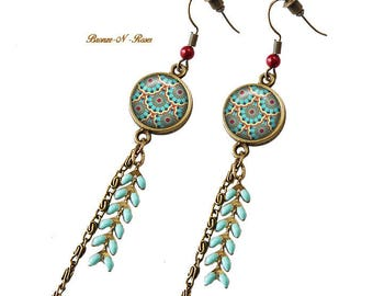 Earrings * Radha * bronze India designs