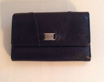 Wilson's Pelle Studio Black Leather Wallet