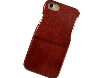 Wooden case, iPhone 6 / 6S Two parts - ash