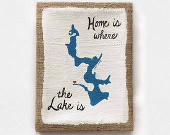 Home is where the lake is