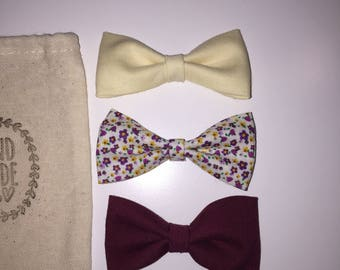 Teaberry bow set