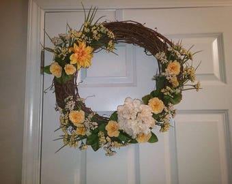 Decorative Grapevine Door Wreath