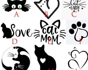 Cat Lover Decals