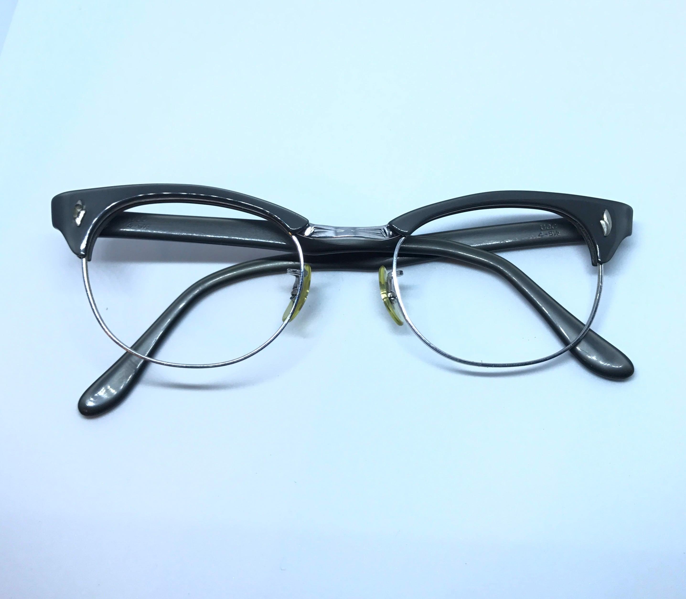 9c6bed3c3229 Vintage Cat Eye Frame - Vintage Eyeglasses - Vintage 50s Rockabilly Style  Glasses