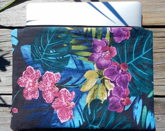 Laptop Cover Vibrant Orchids Macbook