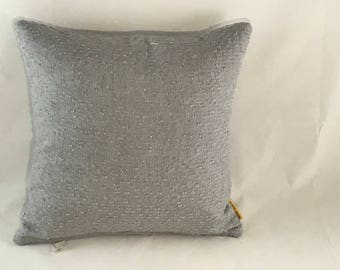 Poolside grey boucle pillow