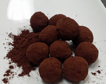 Truffles Dark Chocolate Cylinder of 10 Truffle Balls
