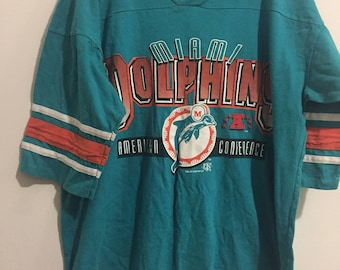 Vintage 90s Miami Dolphins Jersey T-Shirt