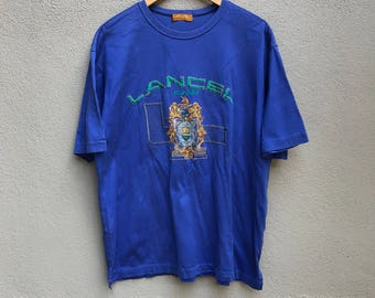 Vintage LANCEL jeans paris biglogo embroidered