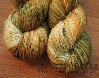 Jasper Superwash Merino - hand dyed yarn