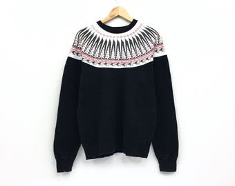 Rare!!Vintage Pherrows Sportswear Sweatshirt Nice Design Pullover Jumper Japan Brands Made In Japan