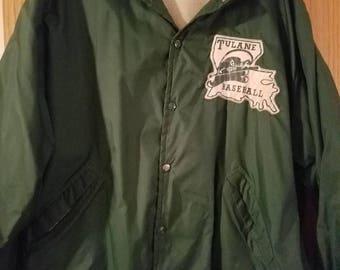 Vintage Tulane baseball jacket