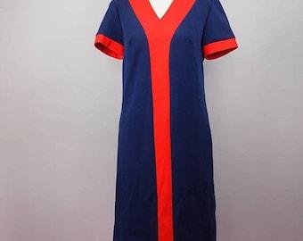 FLASH SALE 1960s Mod Dress