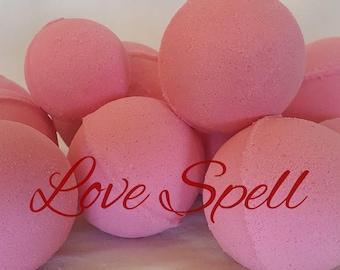 Love Spell Bath Bombs