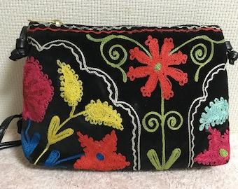 10% OFF FREE Shipping, Handmade Vintage Uzbek Suzani bag, Shoulder bag, Handbag, Suzanibag 6