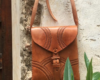SQ- Boho Leather Bag