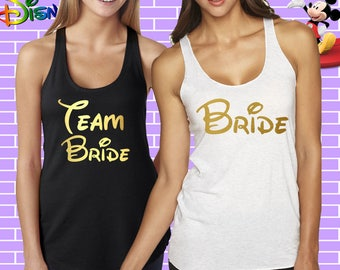 Bachelorette Party Shirts,disney Bachelorette shirts,Bridal Party Shirts,Disney Bride,Disney Maid of Honor tank,Disney Matron of Honor tank