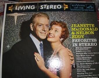 "Jeanette MacDonald & Nelson Eddy - ""Favorites In Stereo"""