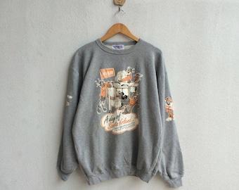 Vintage Captain Santa Sweatshirt Nice Design