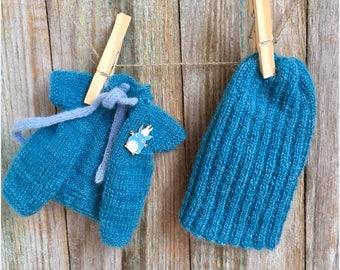 Set for blythe hat and vest