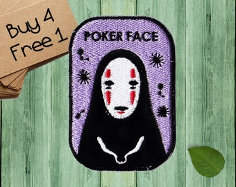 No Face Patches Iron On Embroidered Patches Custom Patches