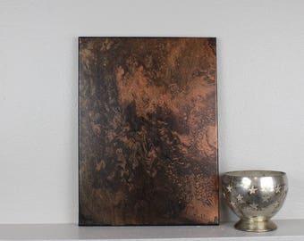"""Acrylic Fluid Painting """"Dune"""" 12""""x16"""""""