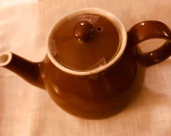 Vintage Hall Brown Teapot