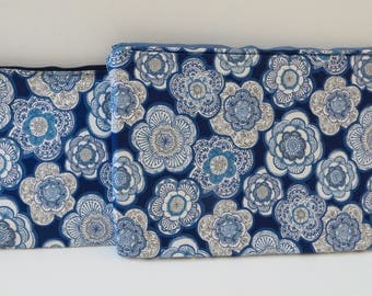 Floral Laptop Case, Zippered laptop case, MacBook Sleeve, Laptop Cover, Laptop sleeve
