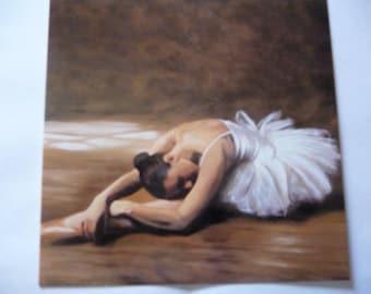 Andrea Bassetti dancer art card