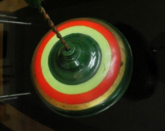 Antique Spinning Top toy vintage
