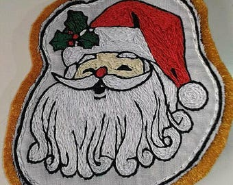 Santa Claus brooch