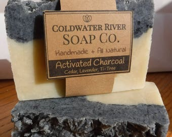 All Natural Activated Charcoal Soap