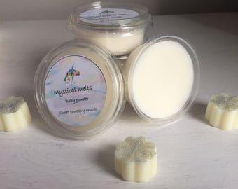 Baby powder scented soywax tub