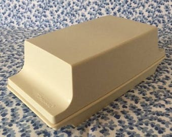Vintage Tupperware Butter Container Butter Dish Butter Tray 1970s