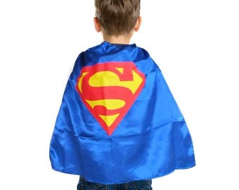 Ships in 1-2 days! PERSONALIZED Superhero Cape Mask - 25 Styles Spiderman, Ironman, Captain America, Hulk, Thor more!