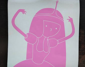 Adventure Time - Princess Bubblegum decal