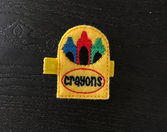 Adorable Crayon Clip!