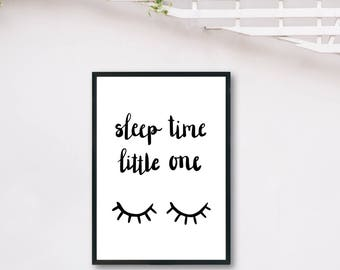 Sleep Time DIGITAL PRINT