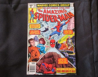 Amazing Spider-Man #195 (2nd Appearance of Black Cat and Origin) Marvel Comics 1979