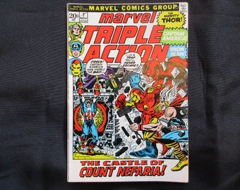 Marvel Triple Action #7 Marvel Comics 1972