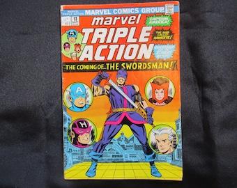 Marvel Triple Action #13 Marvel Comics 1973