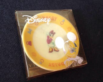 Daisy miniature ceramic dish, dollhouse disney