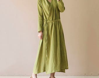 linen dress, ladies clothing,casual dress,maxi dress ,party dress